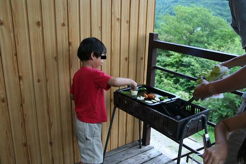 茶臼山高原BBQ