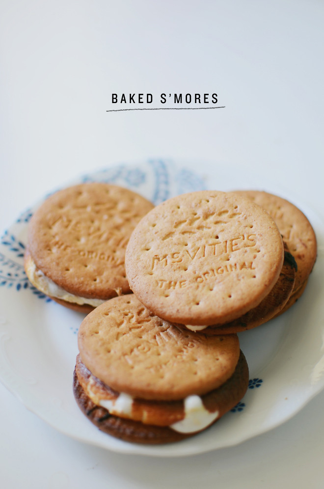 baked s'mores