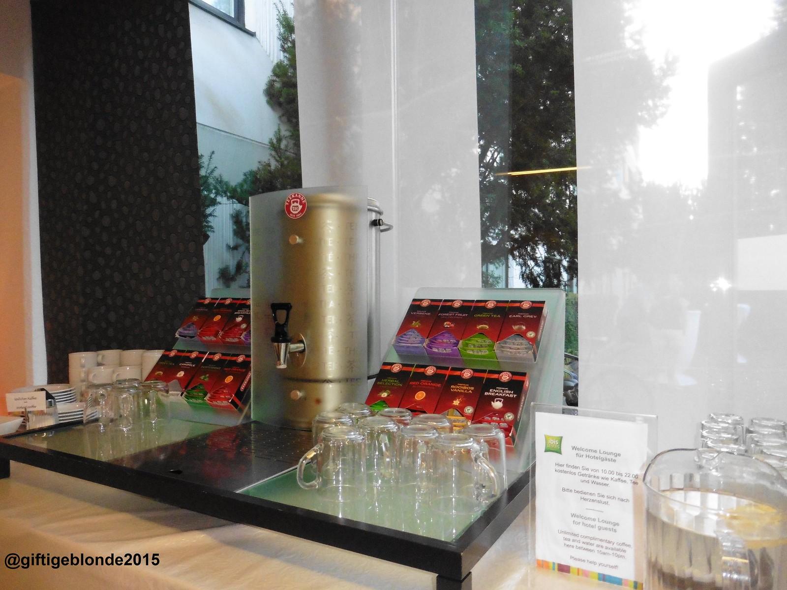 Kostenlos Tee und Kaffee im Ibis Styles Linz