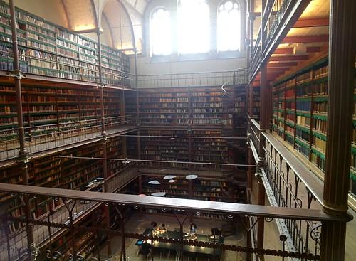 Rijksmuseum Library #throughglass