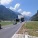 3. den: Infocentrum k novému Gotthardskému tunelu NEAT, který bude zprovozněn v roce 2016 a bude nejdelším železničním tunelem světa, foto: Alena Koukalová