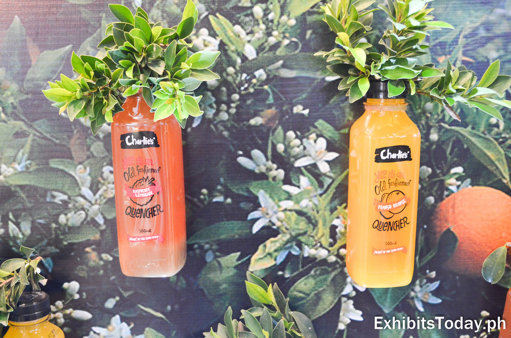 Charlie's Old Fashioned Thirst Quencher Raspberry and Mango Flavors