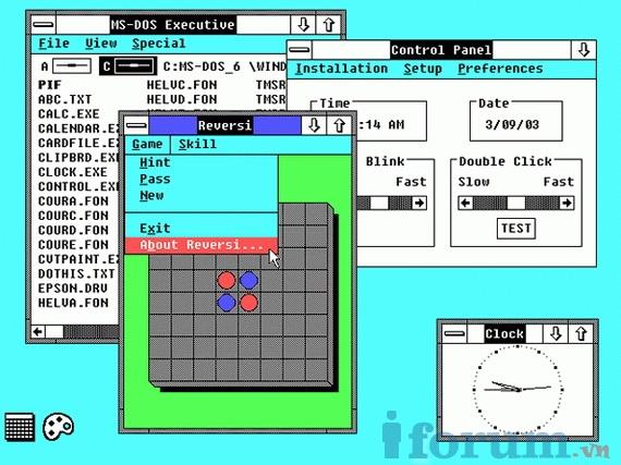 Cùng nhìn lại giao diện Windows đã làm nên tên tuổi Microsoft