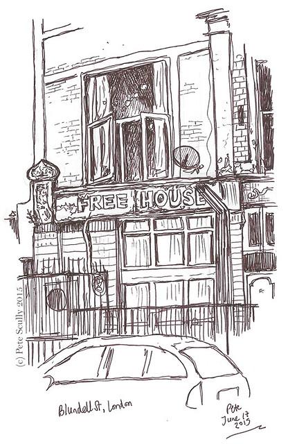 Blundell St, London
