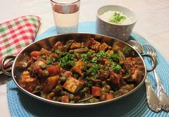 Vegetable and Tofu Curry