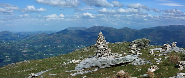 Pays Basque, panorama 2 images - 6423x2724