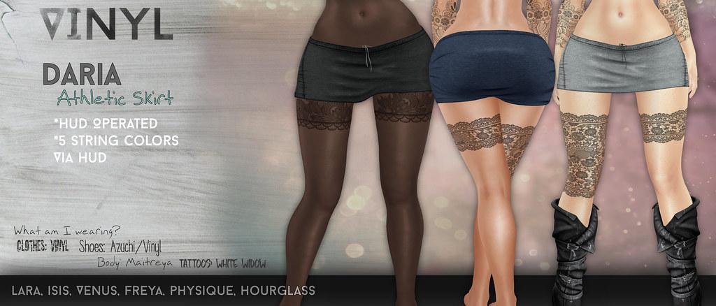 Daria Athletic Skirt Poster - SecondLifeHub.com