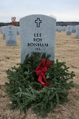 Wreaths at DFW National Cemetery - 2016 Christmas