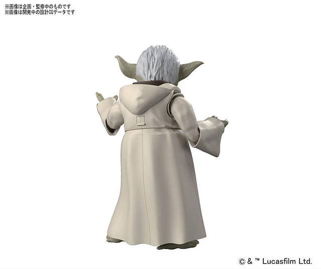 《星際大戰》組裝模型系列 – 絕地大師「尤達」登場!プラモデル スター・ウォーズ 1/6 ヨーダ