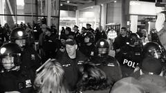 Anti-Trump protest at JFk airport Jan 2017