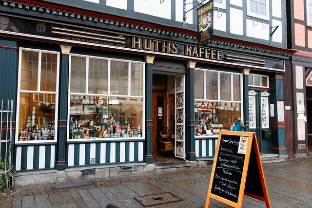 Huth's delicatessen, a time journey into the 19th century. The fragrance alone is worth a visit.