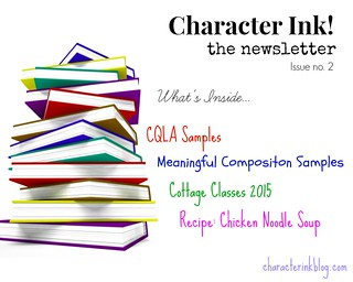 Character Ink Newsletter no. 2