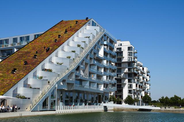 Architecture in Ørestad, Copenhagen