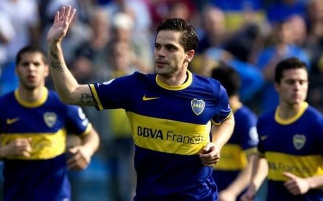 Segundo portal, Santos est� interessado na contrata��o do volante Gago, do Boca Juniors