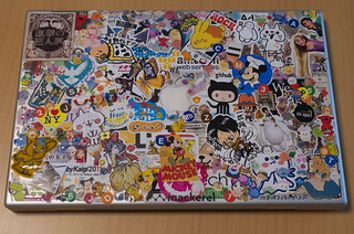 MacBook Pro 17-inch Early 2008 / 天板 / Sticker Decorative