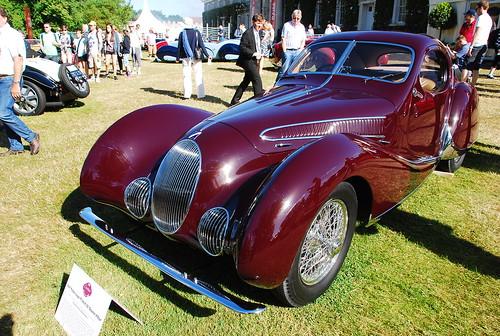 Talbot-Lago T150C SS, Goodwood Festival of Speed 2015