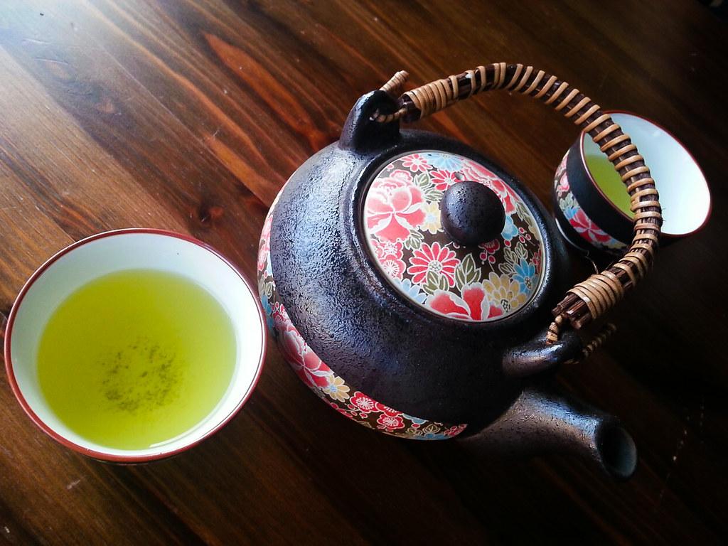 Kristine's teapot set