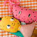 Pineapple and Watermelon Dolls by misako mimoko