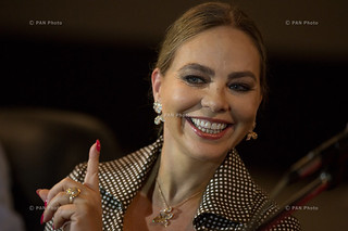 Meeting with Italian actress Ornella Muti