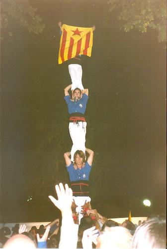 04 Correllengua 2002, Castellers d'Esplugues