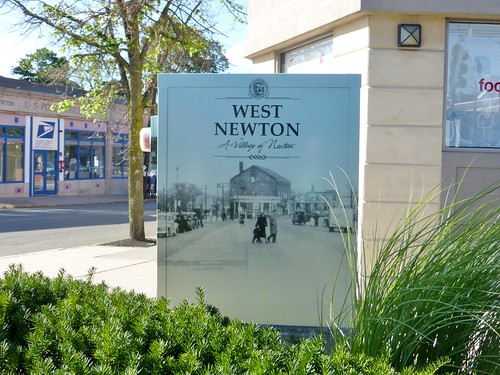 West Newton then and now