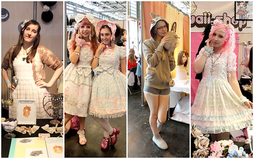 Cuties at Japan Expo