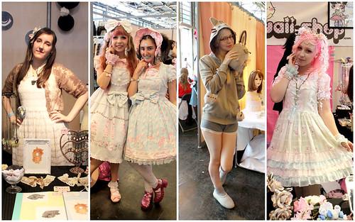 Cuties at Japan Expo