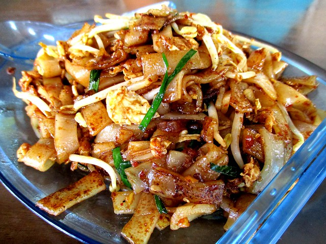 Sibu Town Cafe sambal fried kway teow