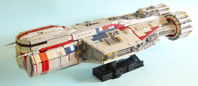 The Ateryn Dawn, by The Librarian, on Eurobricks