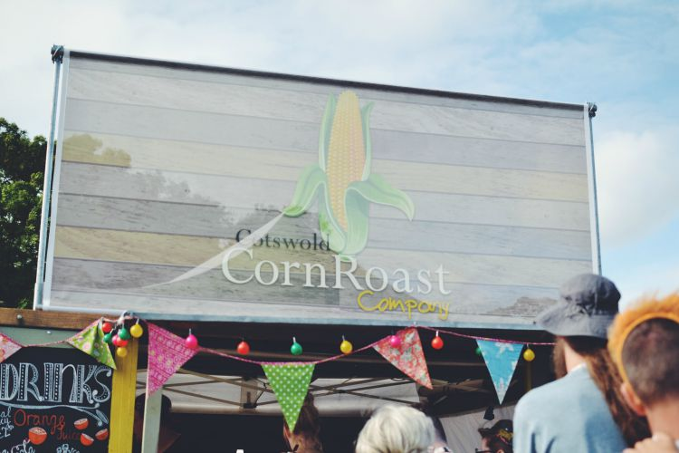 camp bestival corn