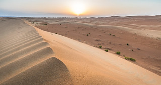 Sunrise in The Empty Quarter