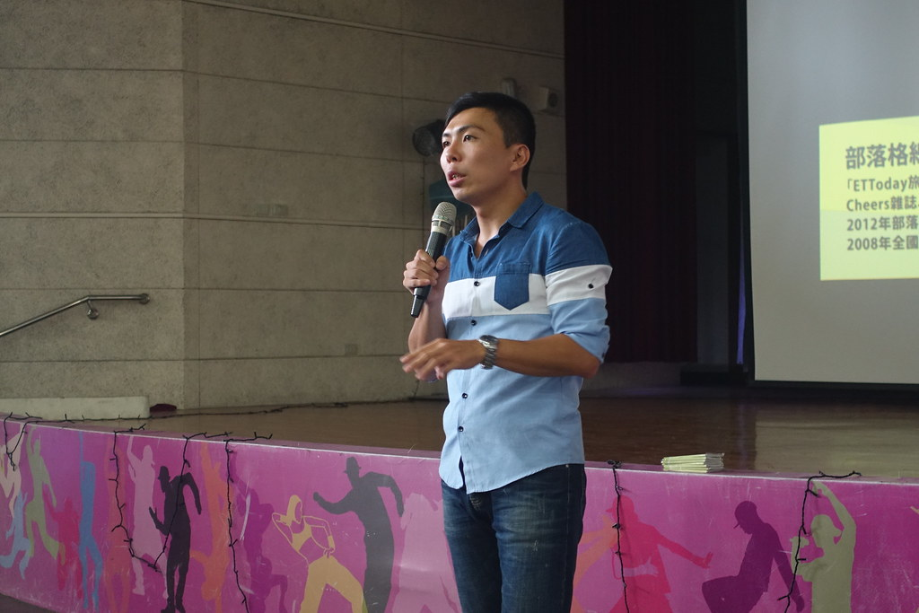 2016.05.23台南新化高中《單車穿越喜馬拉雅的震撼騎跡》講師-6
