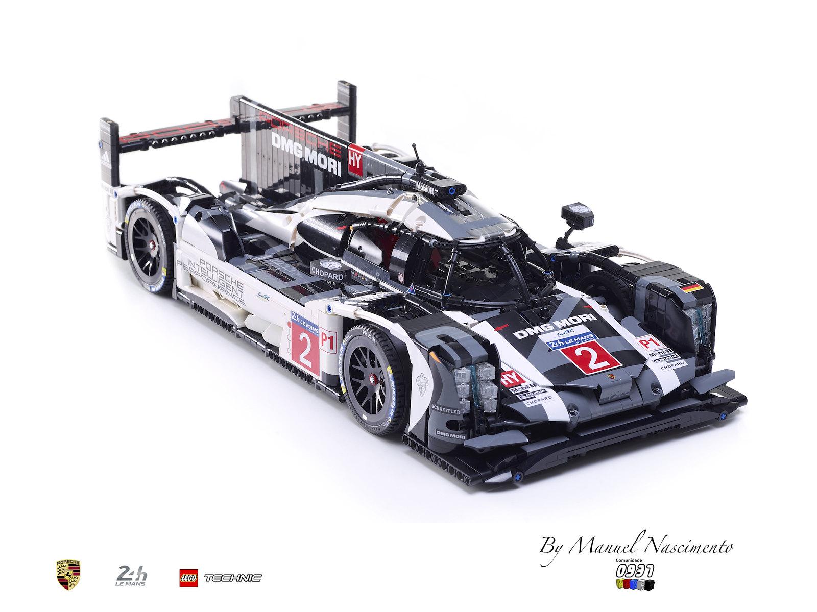 LEGO Technic - Porsche 919 - Le Mans 2015