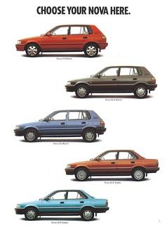 Holden Nova 1991