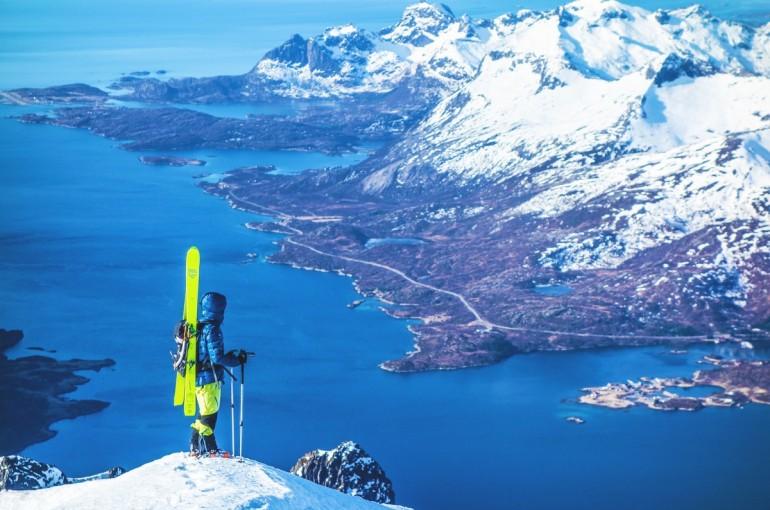 Norskem na skialpech - Lofoty a Vesterály