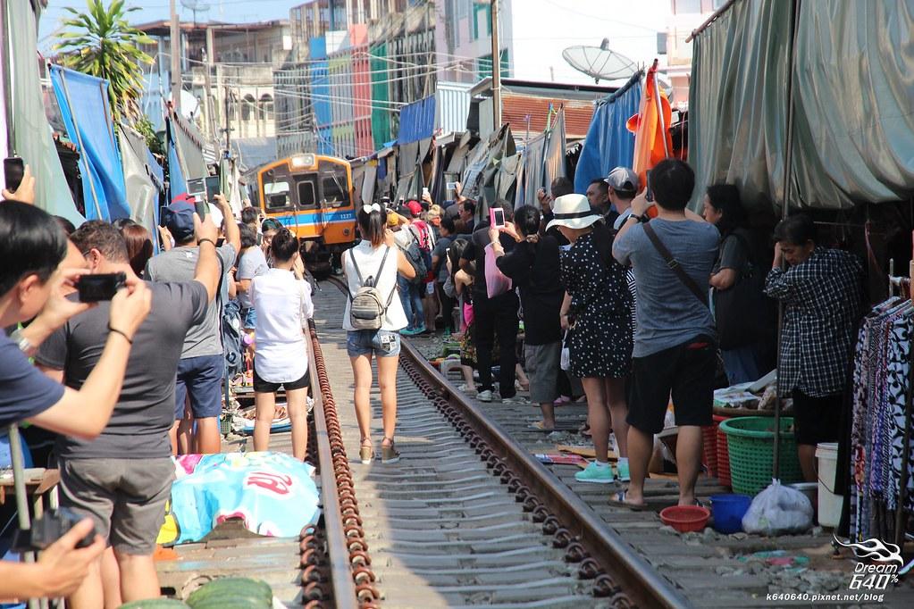 泰國曼谷-水上市場+美功鐵道市集+河濱夜市-61