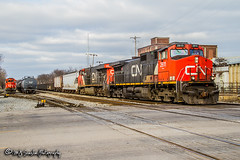 CN 2611 | GE C44-9W | CN Shelby Subdivision