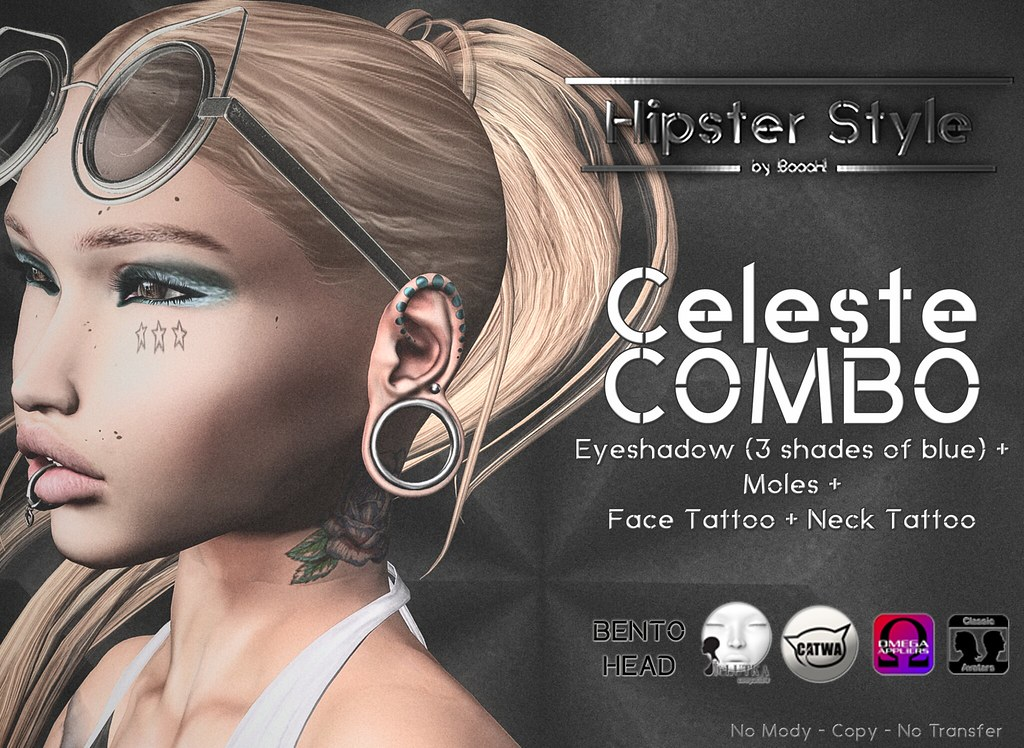 [Hipster Style] Celeste COMBO - SecondLifeHub.com