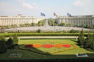 [Bucarest] Vue depuis le Parlement