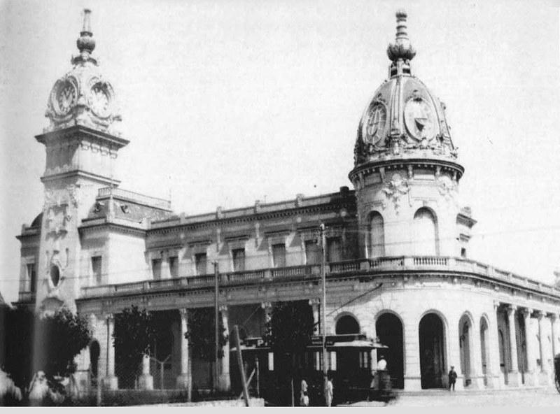 La gare de Mar del Plata 1888