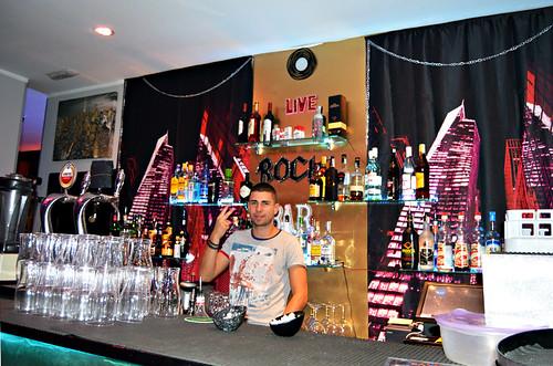 Barman, Sayeah Bar, Los Cristianos, Tenerife