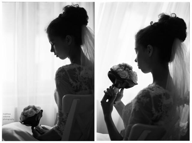 Nikon F4 Bridal Shoot