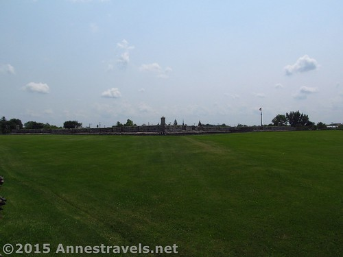 First view of Fort Stanwix from James Street, Fort Stanwix National Monument, New York