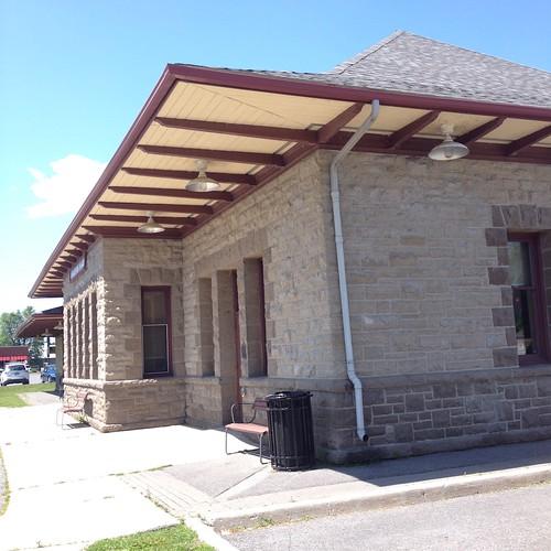 old train station, Carleton Place