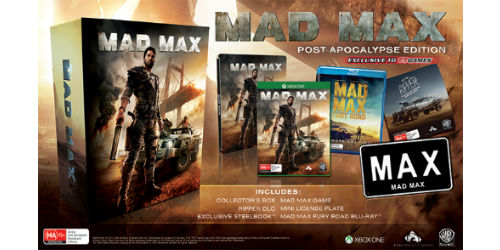 Mad Max Post-Apocalypse Edition to feature a mini Licence Plate