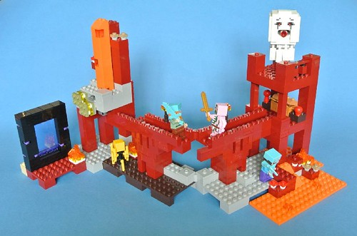 Review - 21122 LEGO Minecraft:The Nether Fortress από BRICKSET 19594099200_c0a119e7fd