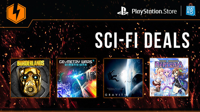 PlayStation Store: Sci-Fi Flash Sale