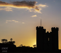 Hiornes Tower Silhouette 1