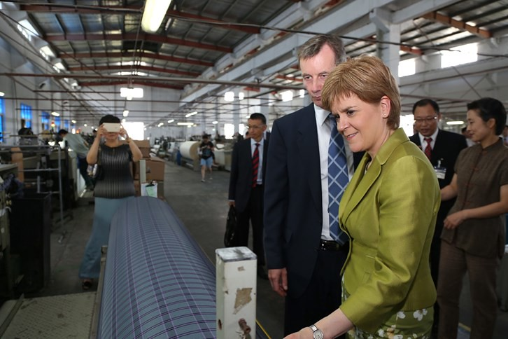 First Minister visits China