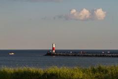 Boat, Beacon, Cloud